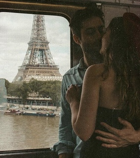 girl, couple and paris
