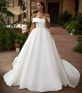 wedding, wedding dress and long
