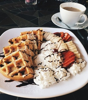 love, food and waffles