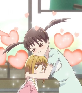 tohru, anime girl and kisa