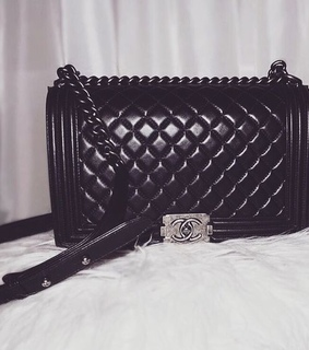 bag, chanel and purse