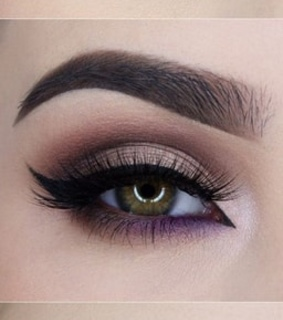 belleza, ojos and maquillaje