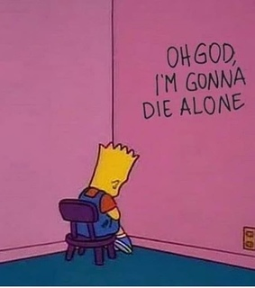 bart, loneliness and cartoon