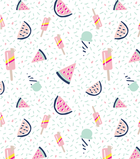 watermelon, background and food