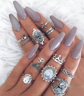 cool, rings and indie