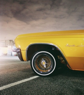 automobiles, yellow and cars