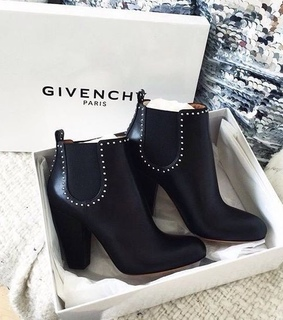 givenchparis, black and heels