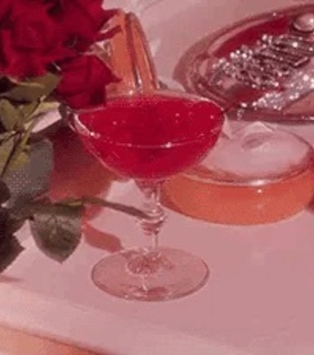 maraschino, roses and vintage