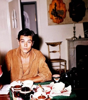 french, actor and Alain Delon