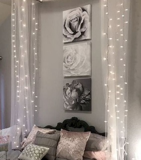 cute, decor and lights