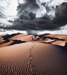 travel, you and desert