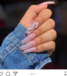 pink, butterfly and nails