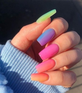 long nails, style and perfect