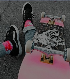 icon, aesthetic and skate