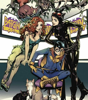 dc comics, poison ivy and birds of prey