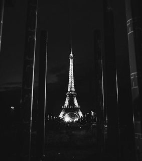 picture, black and white and france