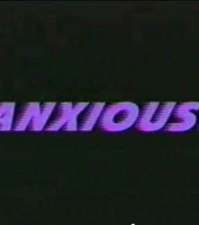 black, anxious and lilac