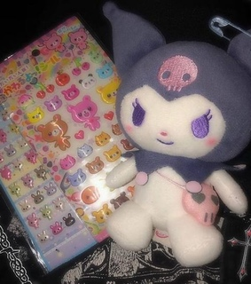 aesthetic, sanrio and kuromi