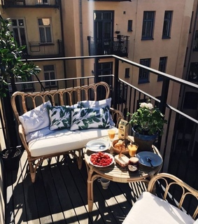 perfect, balcony and lifestyle
