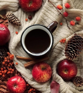 coffee, fall and autumn
