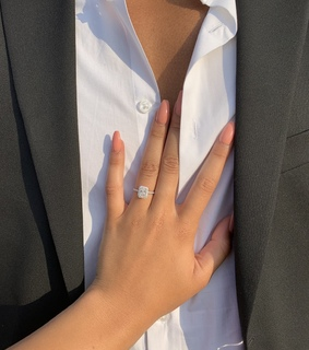 wedding, ring and proposal ring. chin