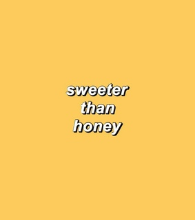 honey girl, backgrounds and yellow love