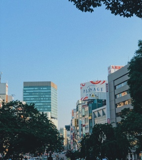 streets, tokyo and japan