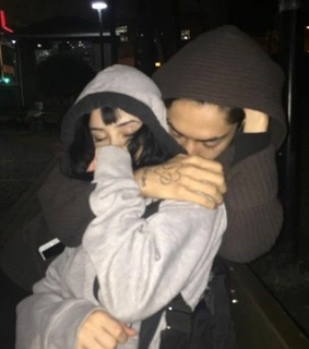 tumblr, couple and goth