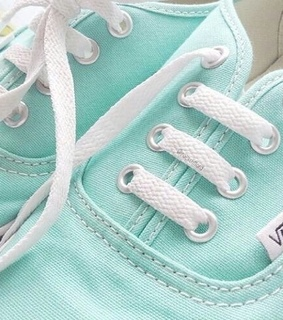 vans, tumblr and blue