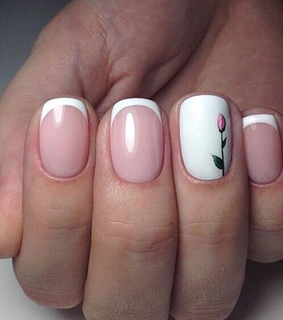 manicure, french manicure and nail art
