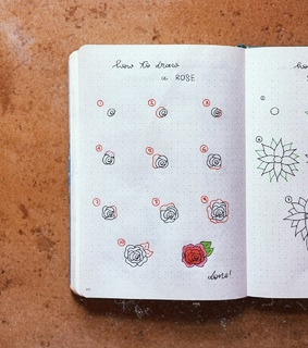 doodle tutorial, drawing tutorial and bujo inspire