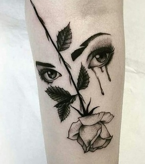 alternative, Tattoos and cry