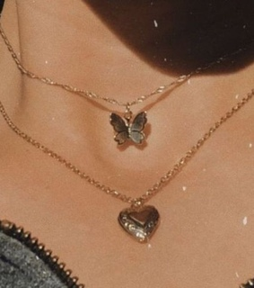butterfly, jewelry and necklaces
