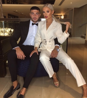 beautiful couple, tommy fury and suits