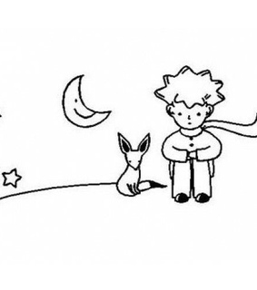 little prince, draw icons and cute doodles