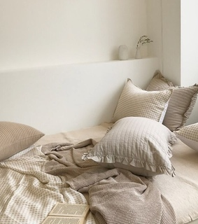 white, pillows and bedroom