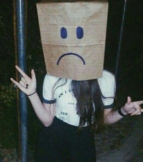 Grudge, sad and lonely