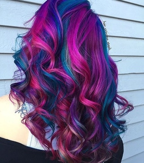 hair, colourful and colours