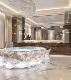 bathroom, marble and design