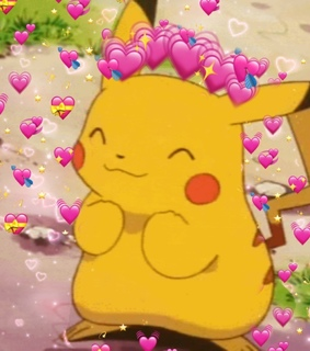 love, wholesome meme and pikachu