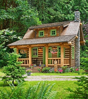 home, mountain living and house