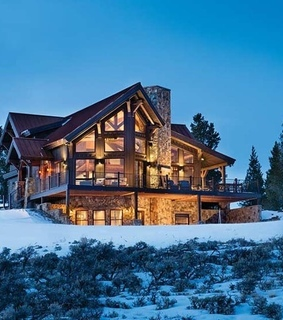 cozy, home and log cabin
