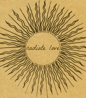 art, quotes and radiate love