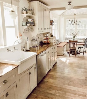 kitchen, country living and home