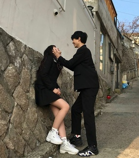 asiatic, korean and ulzzang couple