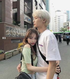 korean, ulzzang couple and asiatic