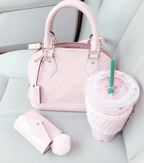pastel pink, purse and pretty