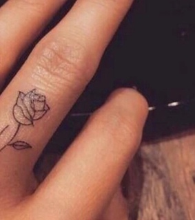 cute, rose and inked