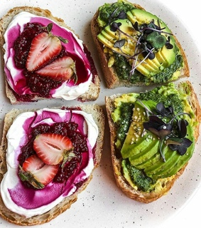 bread, dinner and healthy