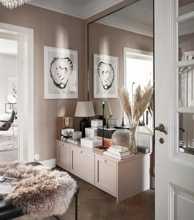 design, home and pink